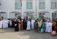 Celebrating the Return of Sultan Qaboos